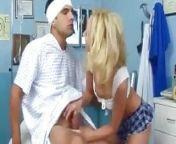 Skinny Blonde Slut Visits Boyfriend at Hospital from telugu hospital sex