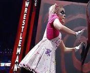 WWE - Alexa Bliss turning a crank at Wrestlemania 37 from wwe alexa xxx nuv