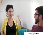 Jessica Jaymes & Aaliyah Hadid fucking a big dick, big booty & big boobs from telugu boobs tv9