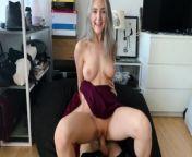 Fucking cuckold's girlfriend to cum on her slutty face - Eva Elfie from telugu hospital sex